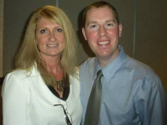 Lisa Madore and Greg Glynn